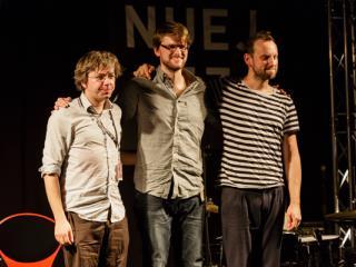 Tobias Hoffmann Trio NUEJAZZ 2014-10-16 - Gustav Eckart, Photographie