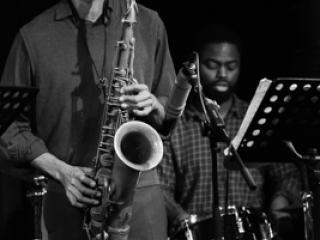 Mark Turner Quartet - Mark Turner Marcus Gilmore 2014-11-02 - Gustav Eckart, Fotografia