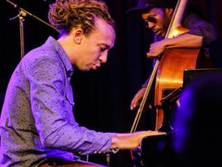 Gerald Clayton Trio - Gerald Clayton Joe Sanders 20140711 - Gustav Eckart, Fotografia