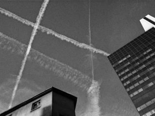 traces dans le ciel - Gustav Eckart, Photographie