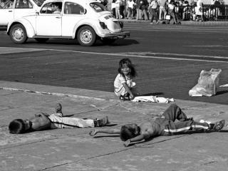 Mexico Strassenkinder 1 - Gustav Eckart, Photographie