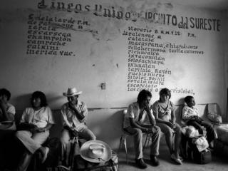 bus station Palenque 1988 - Gustav Eckart, Photography