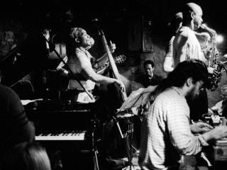 Brian Blade Fellowship im Jazzkeller Frankfurt 2000 - Gustav Eckart, Photographie