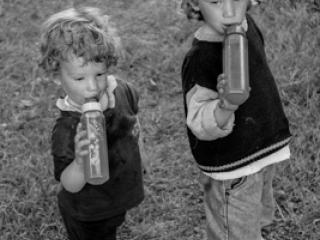 Kinder 38 - Gustav Eckart, Photographie