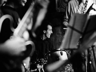 Tim Berne Bobby Previte 1990 - Gustav Eckart, Fotografie