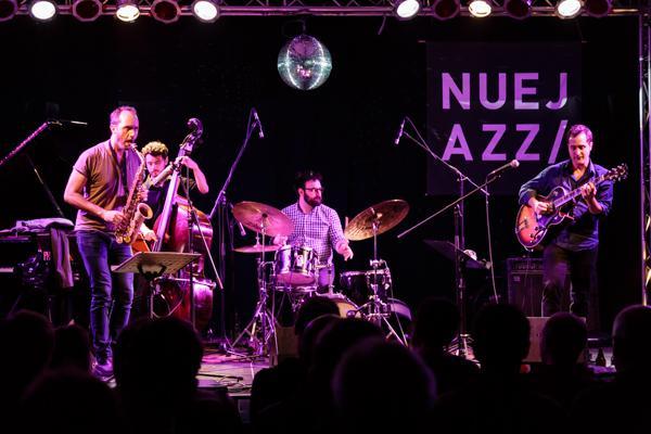 Jonathan Kreisberg Quartet NUEJAZZ 2014-10-15 - Gustav Eckart, Fotografie