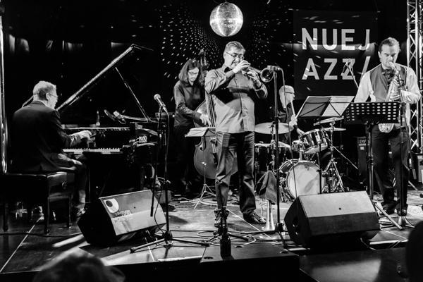 Andrey Lobanov Quintet NUEJAZZ 2014-10-16 - Gustav Eckart, Fotografie