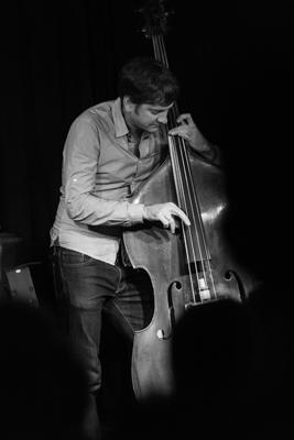 Mark Turner Quartet - Joe Martin 2014-11-02 - Gustav Eckart, Fotografie