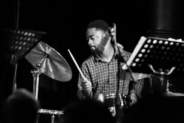 Mark Turner Quartet - Marcus Gilmore 2014-11-02 - Gustav Eckart, Photography
