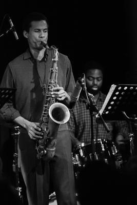 Mark Turner Quartet - Mark Turner Marcus Gilmore 2014-11-02 - Gustav Eckart, Photographie
