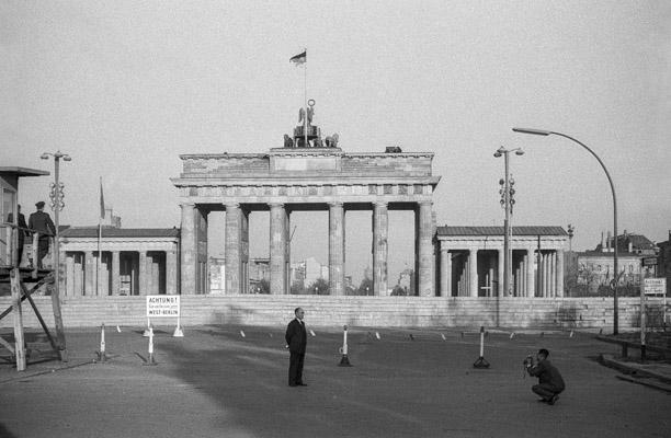 Berlin 1962 Brandenburger Tor - Gustav Eckart, Photographie