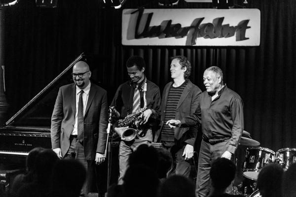 Billy Hart Quartet Unterfahrt 20121115 - Gustav Eckart, Photographie