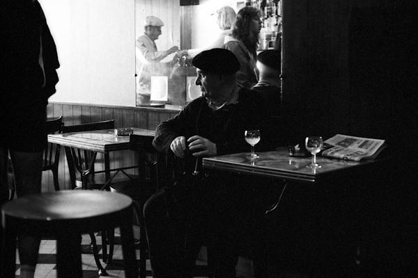 Bistrot Cluny 1990 - Gustav Eckart, Photographie