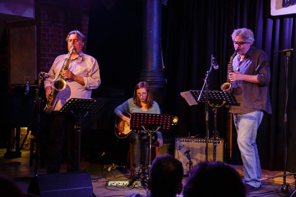 Ches Smith & These Arches - Tony Malaby Mary Halvorson Tim Berne 20140429 - Gustav Eckart, Fotografie