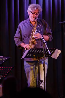 Ches Smith & These Arches - Tim Berne 20140429 - Gustav Eckart, Fotografie