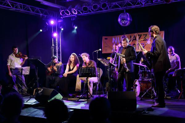 Frank Wuppinger & L'Orchestre Europa feat. Frances Pappas NUEJAZZ 20131024 - Gustav Eckart, Photographie
