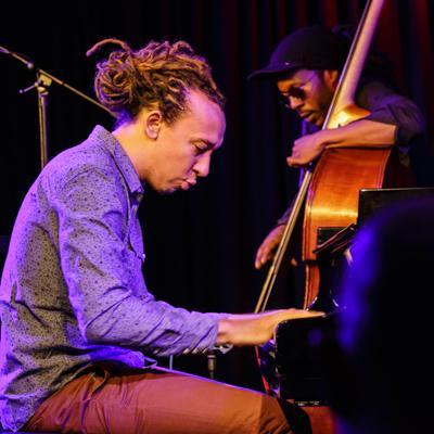 Gerald Clayton Trio - Gerald Clayton Joe Sanders 20140711 - Gustav Eckart, Photographie