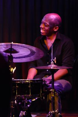 Kenny Werner David Sanchez Quartett - E J Strickland 20140516 - Gustav Eckart, Photographie