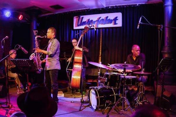 Kenny Werner David Sanchez Quartett  20140516 - Gustav Eckart, Photographie