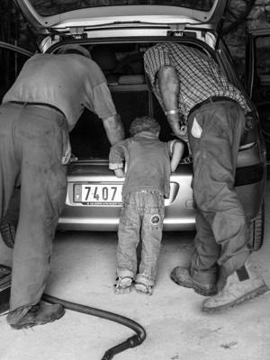 Kinder Sw 01 - Gustav Eckart, Fotografie
