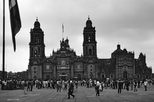Mexico Kathedrale - Gustav Eckart, Photography