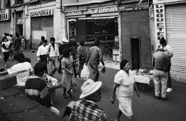 Mexico Strasse 3 - Gustav Eckart, Photographie