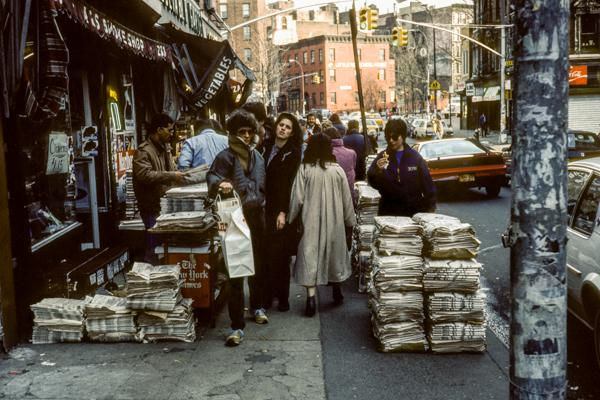 New York City 03/1984 -12 - Gustav Eckart, Photographie