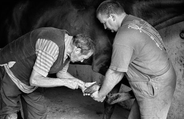 Blacksmith - Gustav Eckart, Photographie