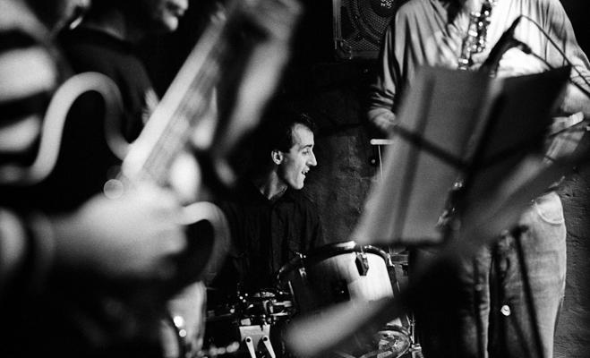 Tim Berne Bobby Previte 1990 - Gustav Eckart, Photographie