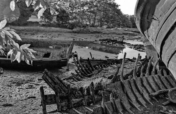cimetière de bateaux 2 - Gustav Eckart, Photographie