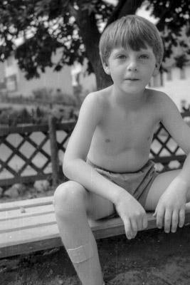 Young Boy 1960 - Gustav Eckart, Photographie