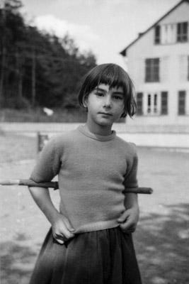 Young Girl 1960 - Gustav Eckart, Photographie